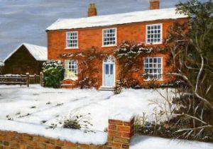 House Snow Scene